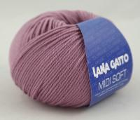 Lana Gatto Midi Soft (14101) 100% меринос экстрафайн 50 г/142 м фото